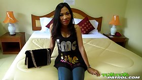 Asian bar doll Nang gets intimate with one married foreigner
