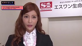 Anacreontic uncensored Japanese mommy office model sex her colleagues