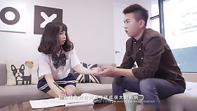 Schoolgirl up uniform - Real Snotty Bus Teen Fuck For the Prankish Seniority - In the sky Camera! - Asian tits