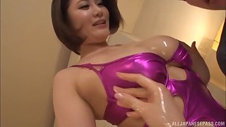 Lovely Asian girls know how to suck a long dong properly